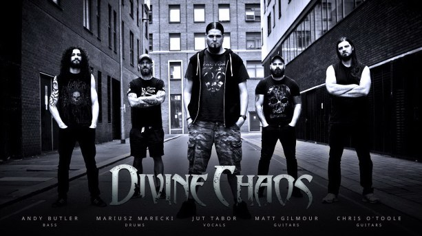 Divine Chaos, band photo, new metal bands, havey metal, thrash