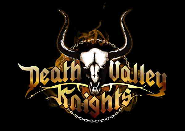Death Valley Knights, logo, newmetalbands